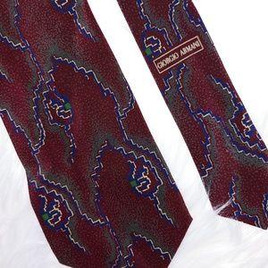 Vintage Giorgio Armani Silk Tie 58